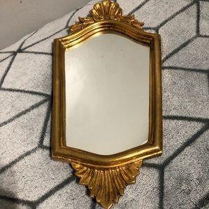 Vintage Italian Gold Frame Mirror